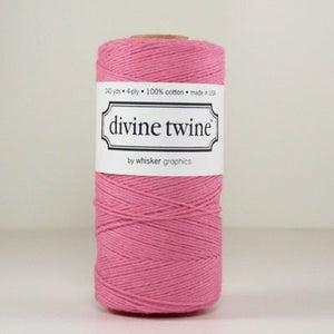 Image of Deep Pink Solid Divine Twine