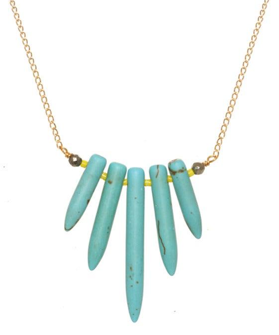 Image of PETITE STARBURST necklace