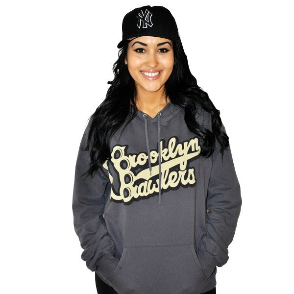 Image of Brooklyn Brawlers KickAssphalt Hoody (Unisex) Limited Edition!