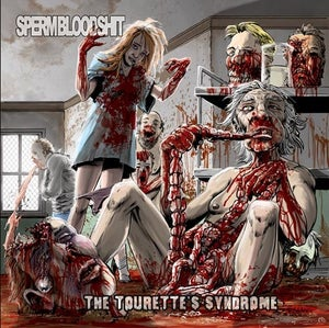 Image of SPERMBLOODSHIT The Tourette's Syndrome CD / DIGI CD