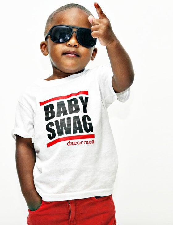 Image of BABY SWAG - TODDLER- WHITE