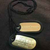"Image of 2013 ""Believers Never Die"" Dog Tag (Free Shipping)"