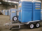 Image of Trailer mounted toilet and trailer suite (price includes GST)