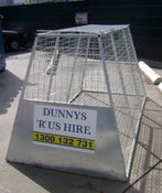 Image of 2.5 cubic metre rubbish cage (price includes GST)