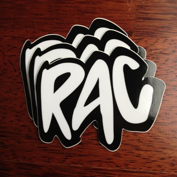 Image of RAC Classic Logo Sticker 3-Pack
