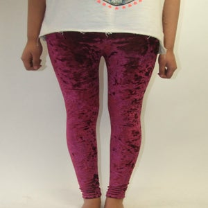 Image of Burgundy Leggings