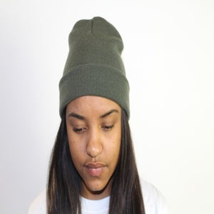 Image of Green Beanie