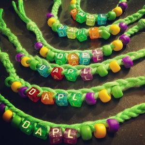 Image of DAPL Friendship Bracelet/Keychain