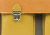 Patch Work 2 Large - grey, orange, yellow