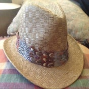 Image of A New beige Fedora