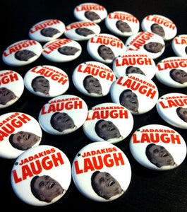 "Image of Jadakiss Laugh 1"" Pin"