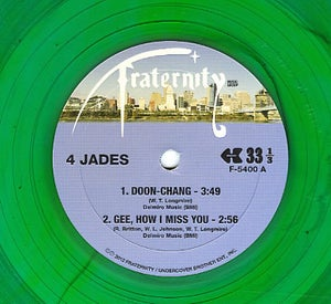 Image of Doon Chang / Gee How I Miss You / Make You Wanna Holler / Everybody's Somebody's Fool - 10""