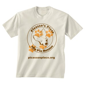 Image of Official Picasso's Place Min Pin Rescue T-Shirt