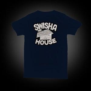 Image of Swishahouse Logo Shirt - Navy REGULAR: $25
