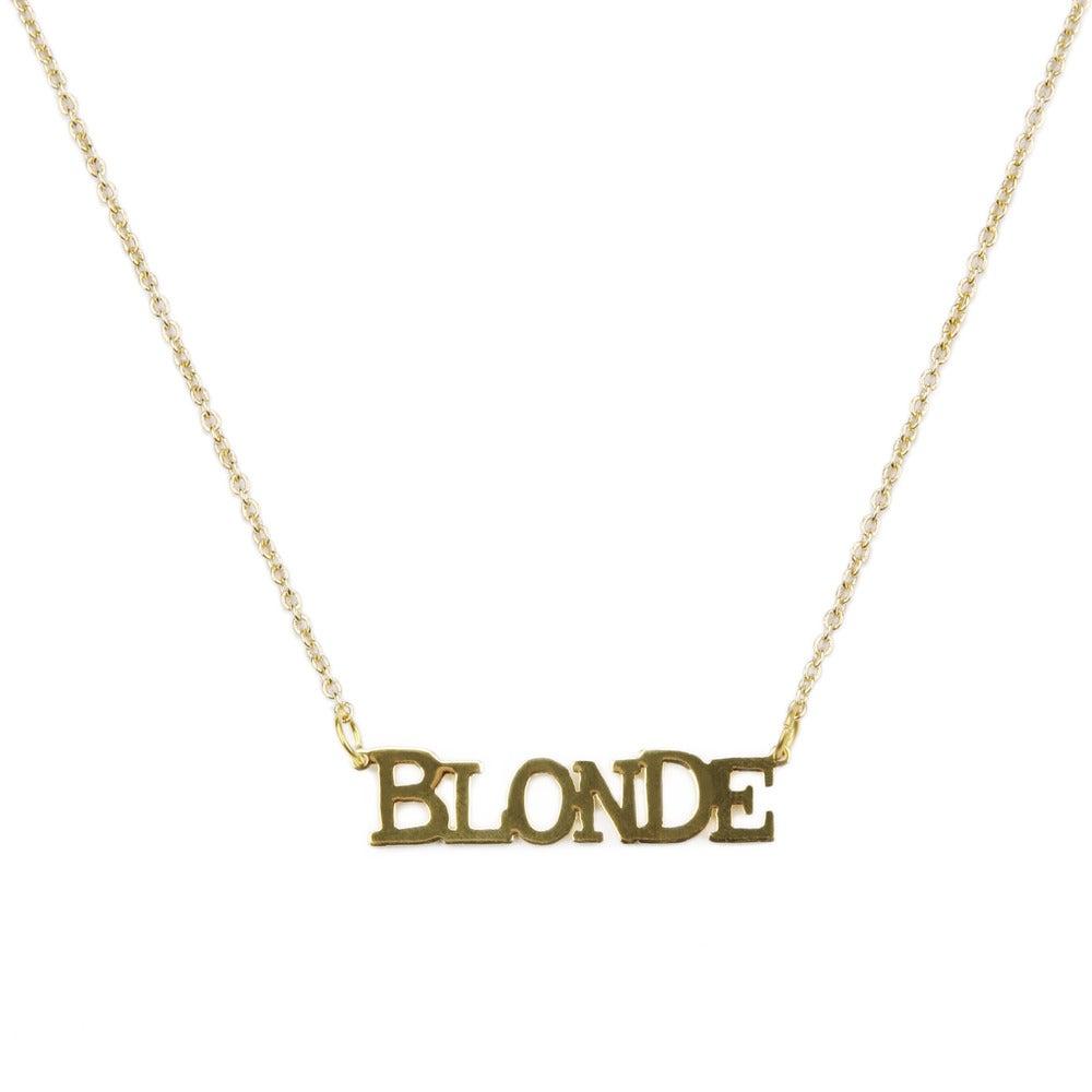 Collier Blonde - Félicie Aussi