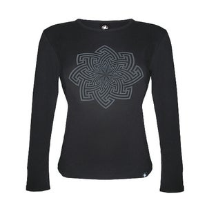 Image of Buddhagata - Women's Ribbed Long Sleeve