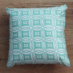 Image of Handmade Cushion - Circle Print