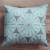 Image of Handmade Cushion - Feather Print