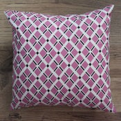 Image of Handmade Cushion - Geo Print