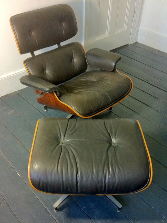 Image of Eames Lounge Chair & Ottoman