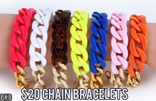 Image of 2 Chain Bracelet(s)