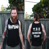 Image of T.D.E Drinking Team Singlet