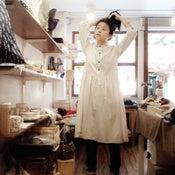 Image of 100% Cotton Stripe Dress / 全棉條子連衣裙 ( code: 117 )