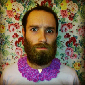 Image of Peter-Pan Style Crochet Collar