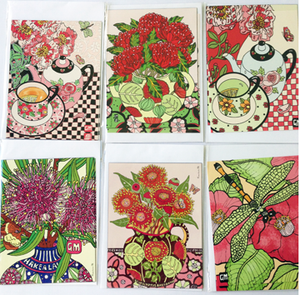 Image of Postcard Magnet Packs