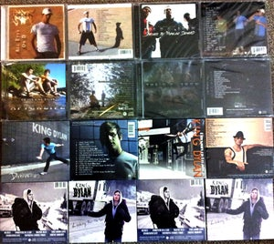 Image of King Dylan CD's