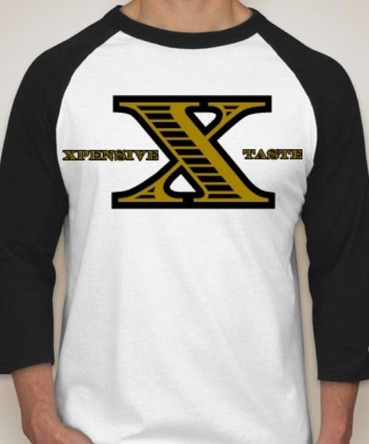 "Image of ""X"" Logo Baseball Tee"