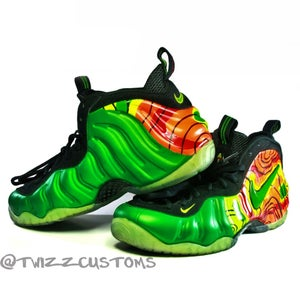 """Image of Nike Foamposite- """"Weatherman"""" Custom"""