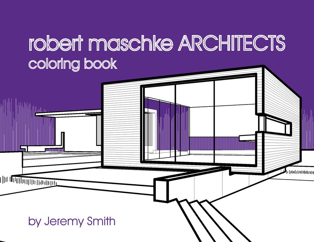 robert maschke architects coloring book designbelt Mosaic Coloring Book  Cleveland Architecture Coloring Book