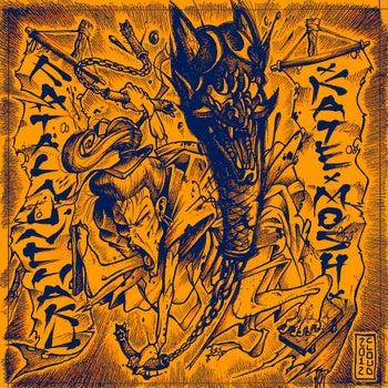 "Image of FATAL NUNCHAKU - KATExMOSH split 7"""
