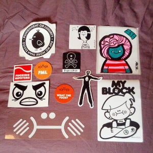 Image of Abe Lincoln Jr. Sticker Grab Bag