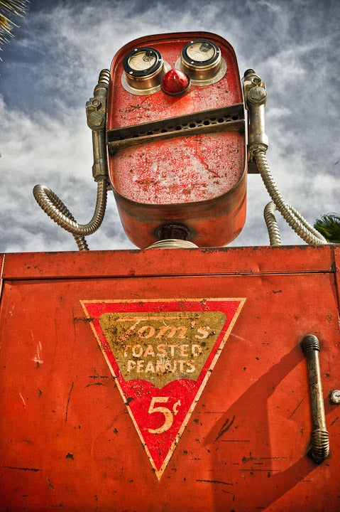 Image of  Robot Tom. Recycled Americana