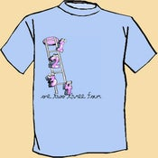 Image of One Two Three Four Cartoon Shirt