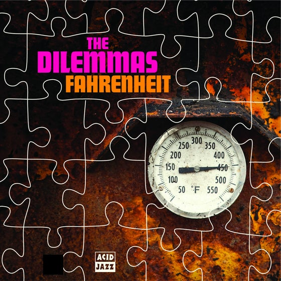 Image of The Dilemmas - Fahrenheit / Change Change 7""