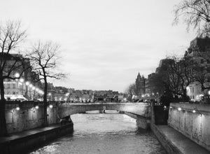Image of Seine River at Dusk
