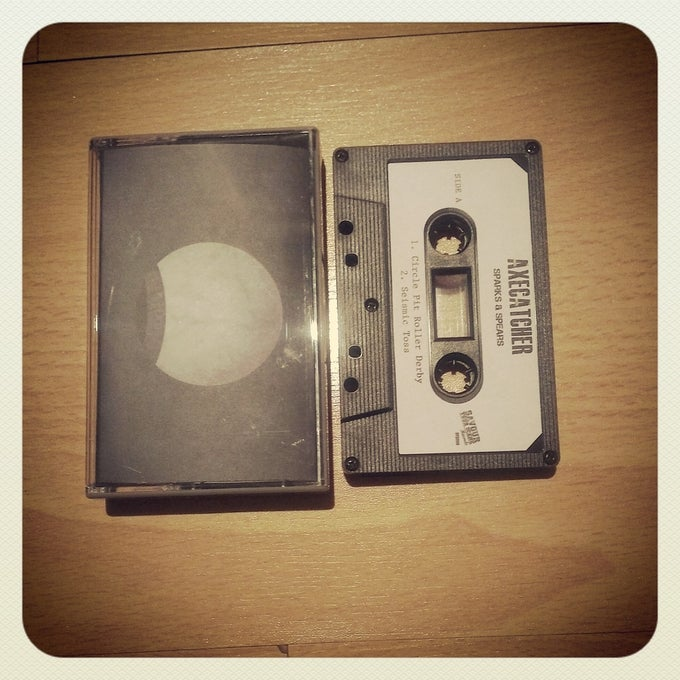 Image of Axecatcher 'Sparks & Spears' Tape