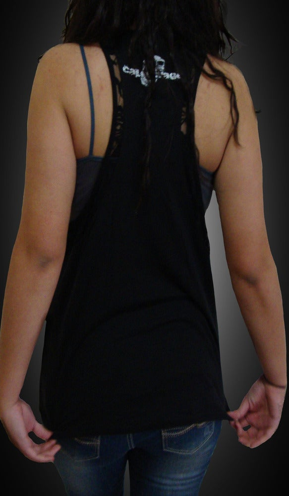 Image of Ladies - Marilyn lace A line tank
