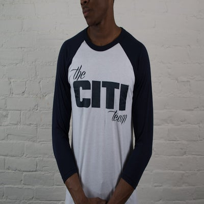 Image of Men Citi Team Raglans - Navy