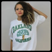 Image of Too Legit Oakland Crewneck Sweater