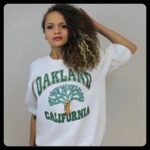 Image of Too Legit Oakland Crewneck Sweater