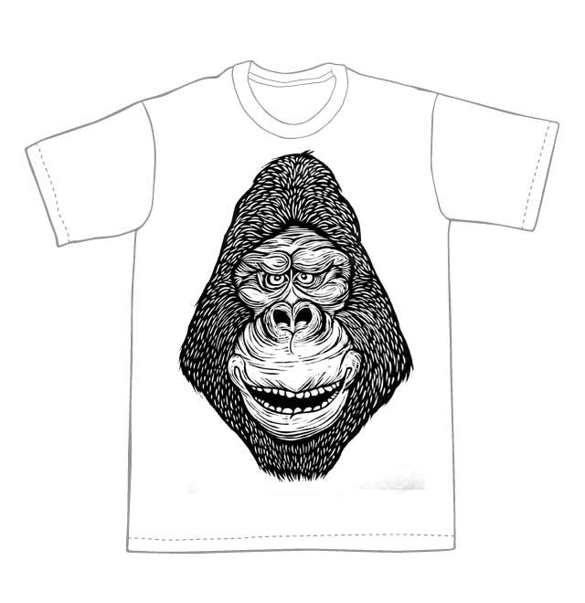 Image of Gorilla Head