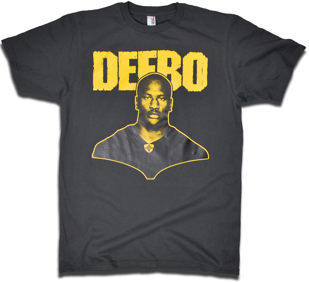 "Image of James ""DEEBO"" Harrison tee"
