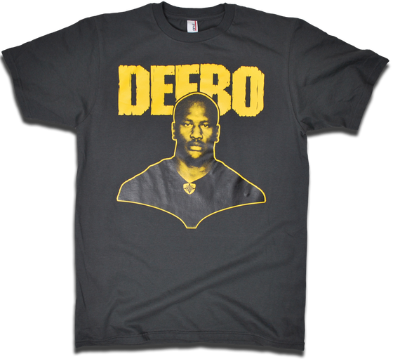 "Image of James ""DEEBO"" Harrison tee by Backpage Press"