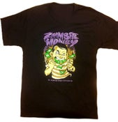 Image of ZOMBIE MONEY TEE (BLACK/PURPLE)