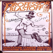 Image of Professor Blastoff Live in Vancouver Poster