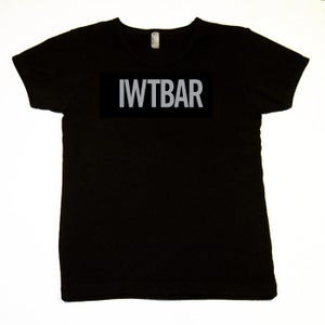 Image of IWTBAR Black Tee